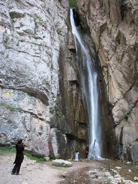 waterfall (Golestan National Park, N Iran)