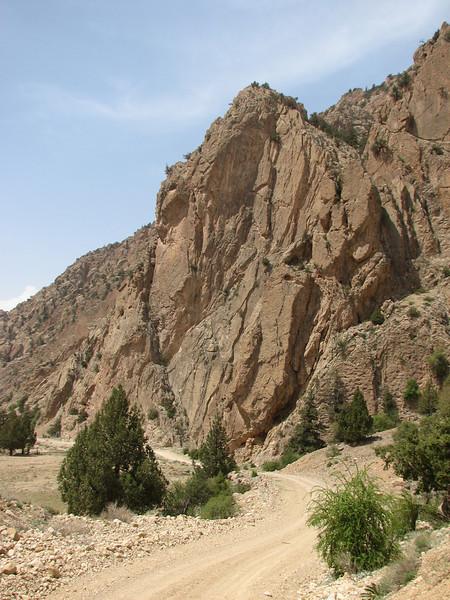 nice climbing rocks (protected area Jahan Nama, Elburz, N.Iran)