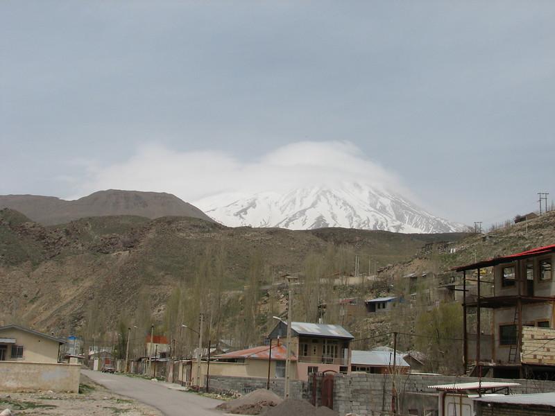 summit of the Damavand 5671m. the highest summit of Iran. (Damavand, Elburz, N.Iran)