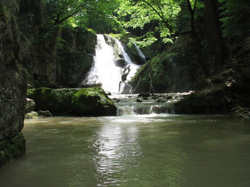 Loweh waterfall (near Golestan National Park, N Iran)