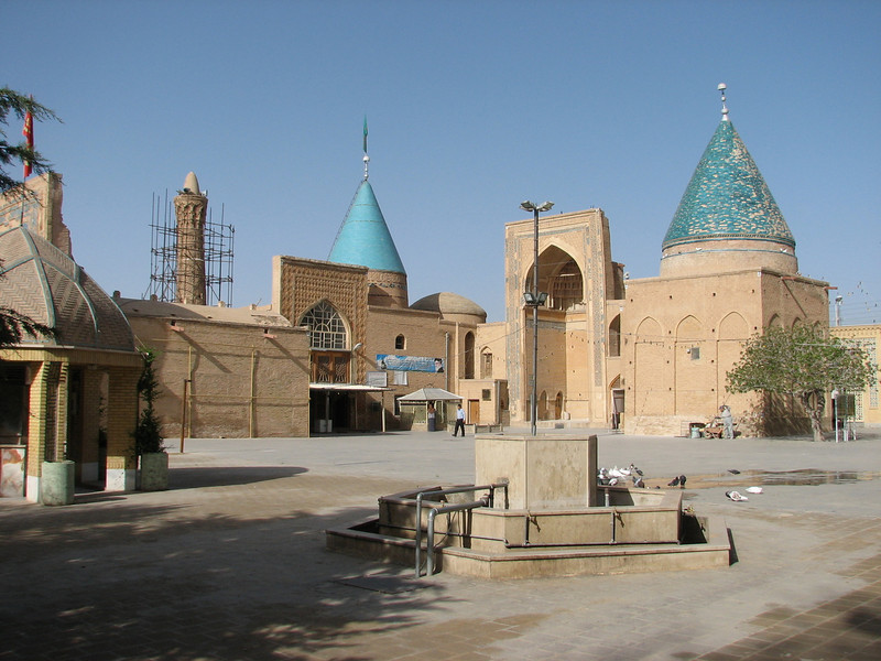 site of pilgrimage  (Bastam, East Elburz, N.Iran)