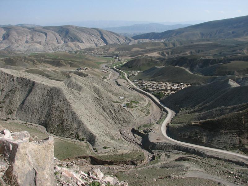 village in the Koppe Dag mountains (Koppe Dag mountains NE Iran)