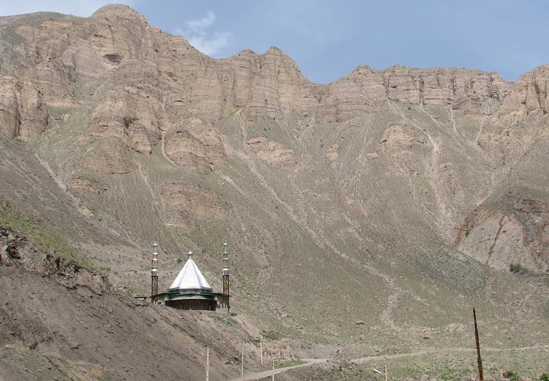 mosque in the mountains (near Tehran, Elburz, N.Iran)