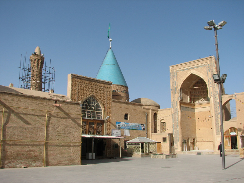 site of pilgrimage in Bastam (Bastam, East Elburz, N.Iran)
