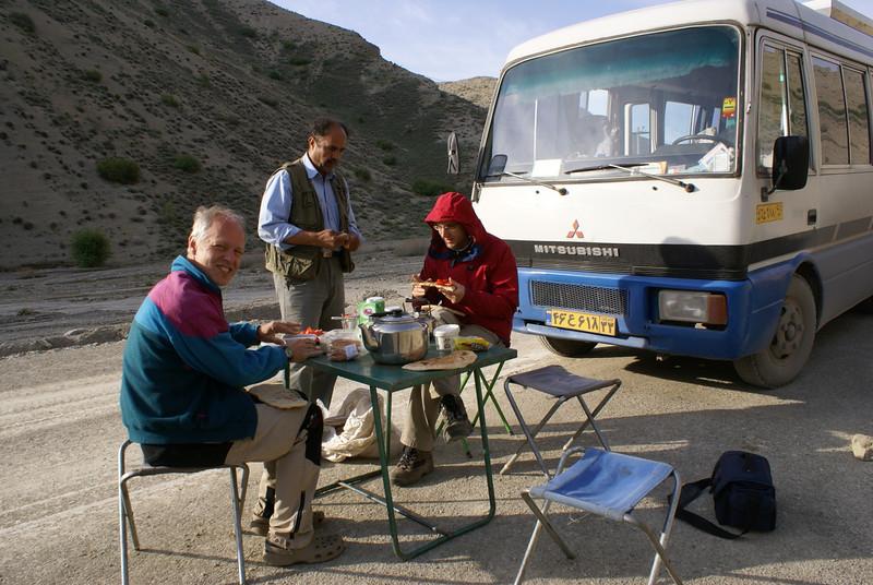 Diner time (Koppe Dag mountains NE Iran)