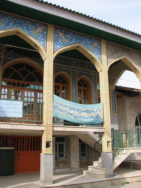 mosque (S.side of the protected area Jahan Nama, Elburz, N.Iran)