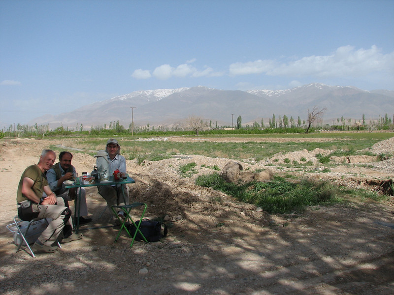 lunch/coffee time (East of Shahrud, East Elburz, N.Iran)