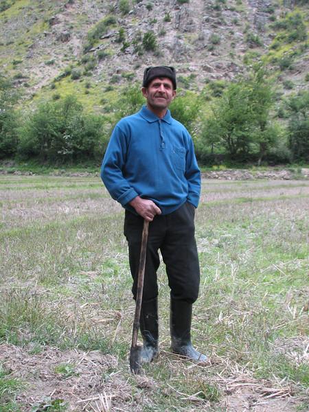 farmer (Elburz mountains N. Iran  2009)