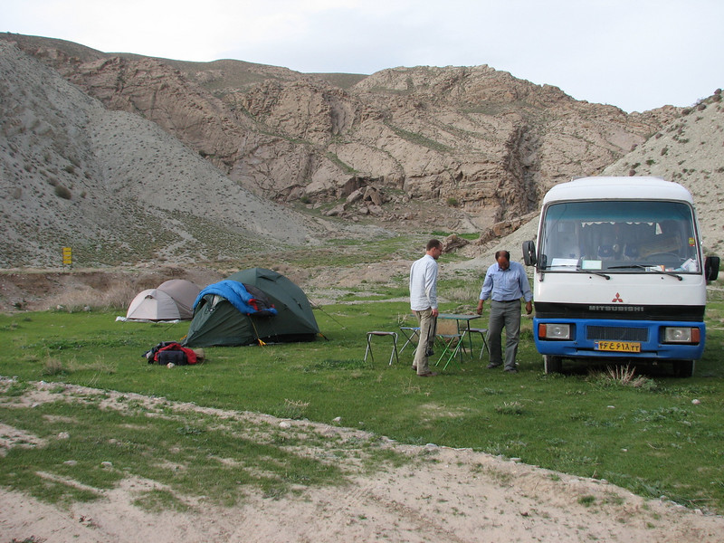 campsite April 30th - May 1th (Emam qoli, Koppe Dag mountains NE Iran)