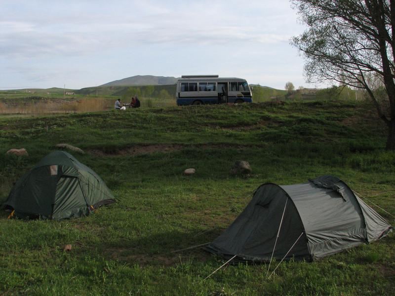 breakfast campground (Iran, Azarbayjan-e-Gharqi, near Aqa baba Faramarz)