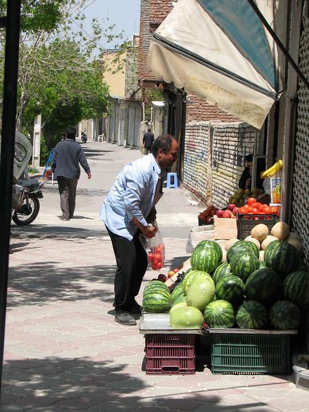 shopping (Iran, Azarbayjan-e-Gharqi, near Aqa baba Faramarz)