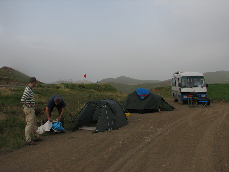 campground (Iran, Azarbayjan-e-Gharbi, Galijeh, between Mahabad - Bukan)
