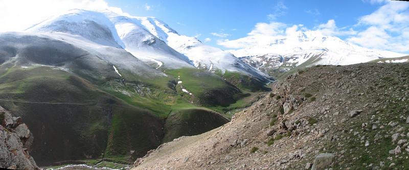 sabalan mountains (Iran, Ardabil, Kuh-e-Sabalan, mountains S of Lahrud, 2600m vulcanic (10)
