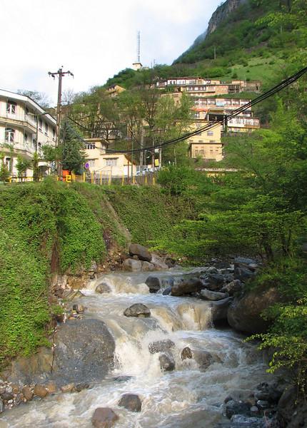 Masuleh, 3-4 May picturesque mountain village (Iran, Gilan, Tales mountains)