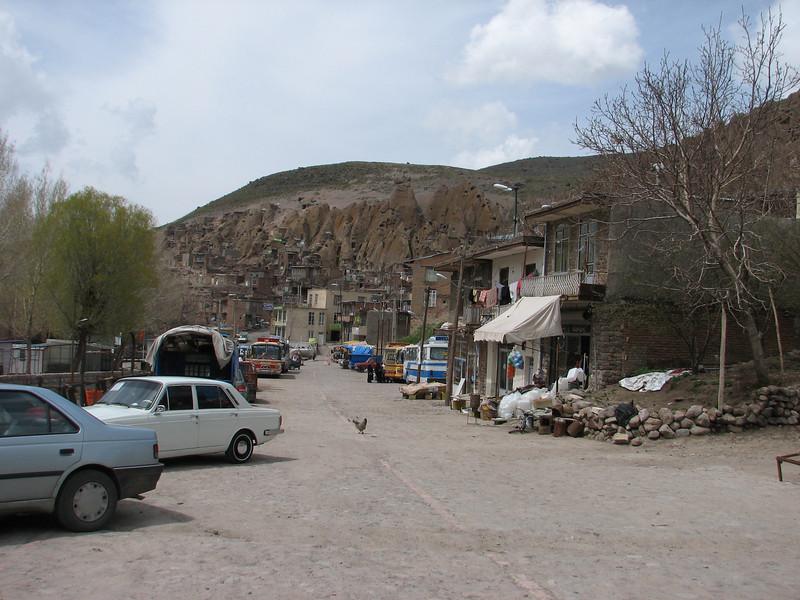 Kandovan a pitoresque mountain village (Iran, Azarbayjan-e-Gharqi, Sahand mountains)