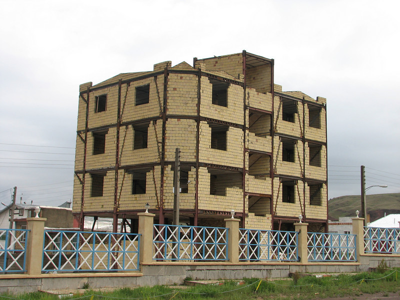 earthquake resistance building (Iran, Ardabil, mountains between Khalkhal and Kivi (8)