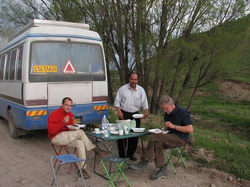 campground (Iran, Azarbayjan-e-Gharqi, near Aqa baba Faramarz)