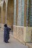 The tiles of the Nasīr al-Mulk Mosque