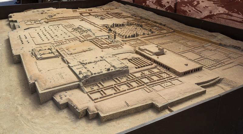 Model of Persepolis. Achaemenid Empire (ca. 550–330 BCE)