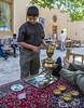 Drink tea, Dowlat Abad Garden
