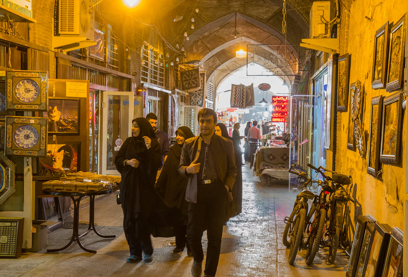 Esfahan Bazaar, dating back to the 17th century