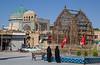 Amir Chakhmaq Square with Amir Chakhmaq Mosque