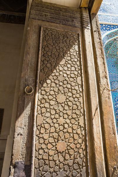 Door of the Masjid-I Jami (Mosque)