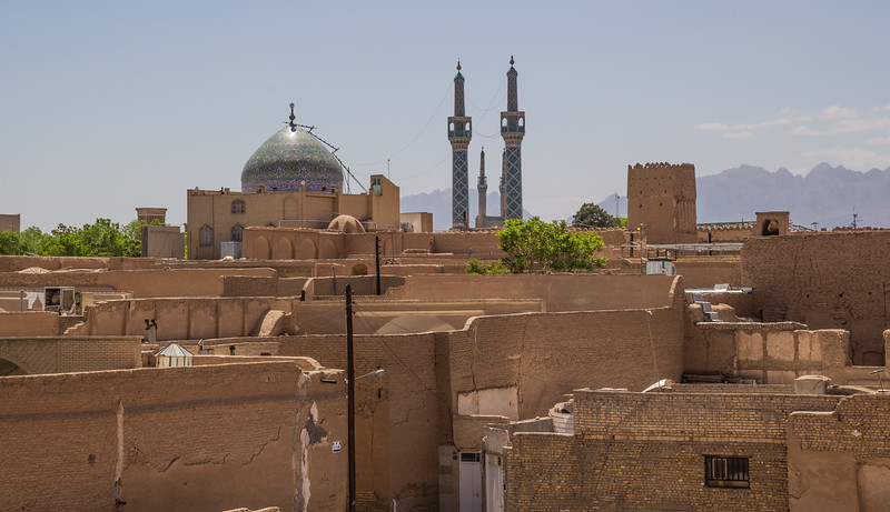 Old town and Hzyrh Mosque (Mohammadi Shrine)