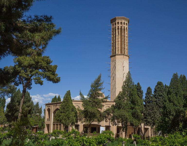 Dowlat Abad Garden and Wind towers