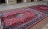 Persian carpets in the Jameh Mosque