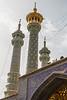 Minarets of the Fatima mosque