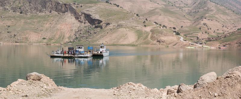 Crossing the Bazoft river