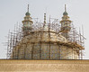 Restoration at the Fatima mosque