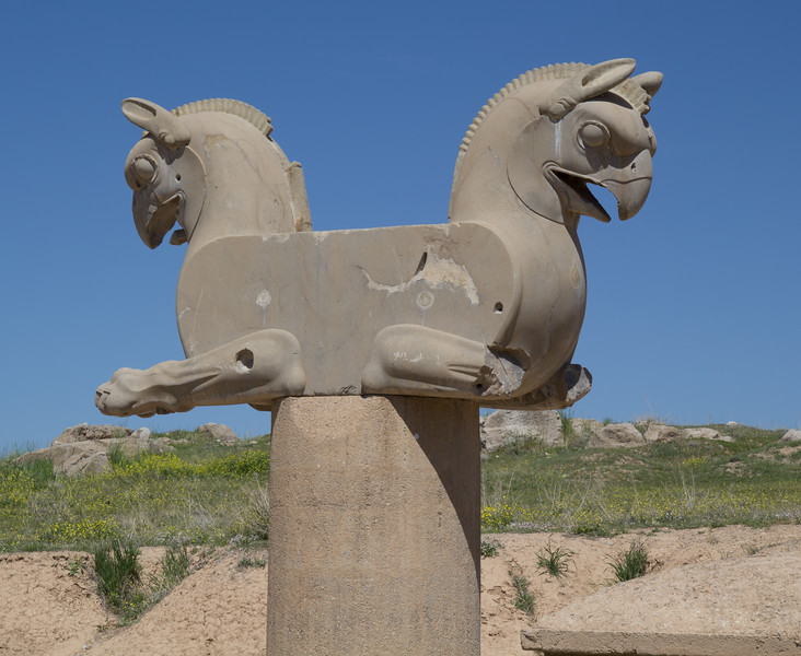 Achaemenid griffin at Persepolis