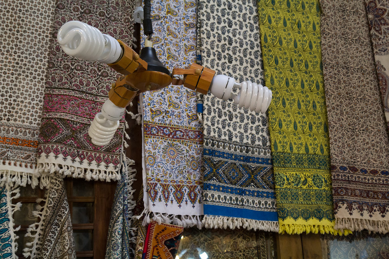 Products of textile printing and energy saving bulbs