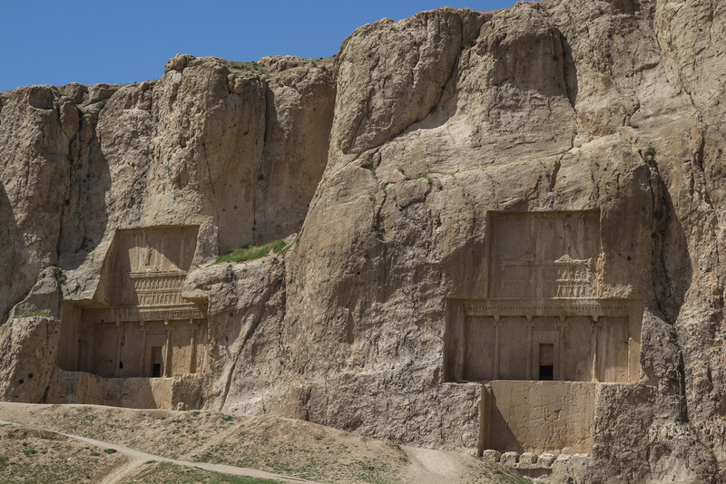 Royal tombs near Persepolis