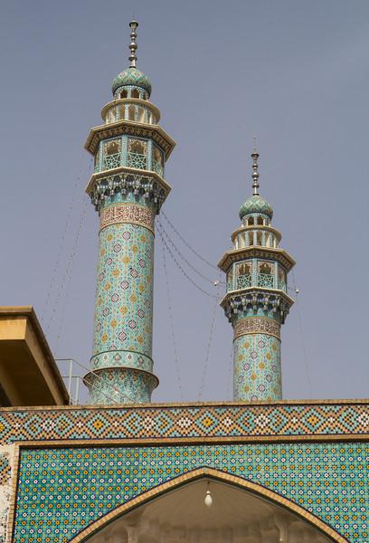 Couple of minarets