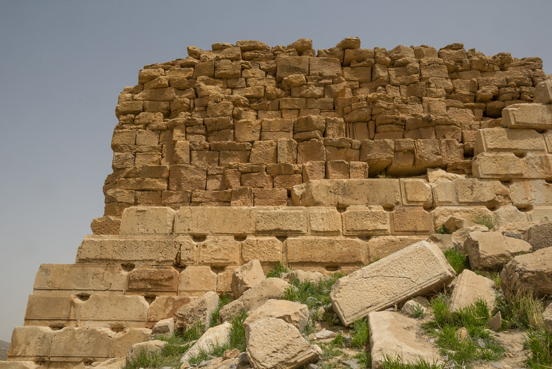 Fortification of Takht-e Madar-e Soleyman (The Throne of Solomon's Mother)