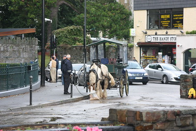 One of the many Jaunting Carts for hire in Kilarny