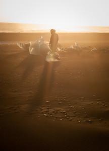 Písečná mlha (ingredience: černý písek, ranní slunce a vichr od moře).