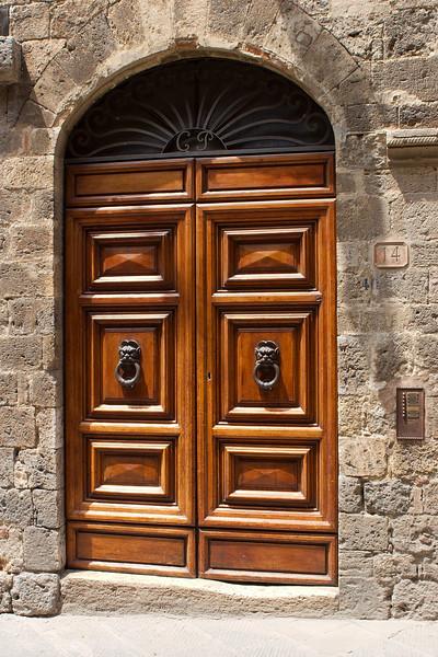 Street shots around San Gimignano
