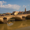Bridges over the Arno River