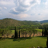 Shots from the window of the Hotel Castello di Spaltenna in Gaiole in Chianti