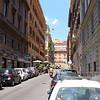 Street near Hotel