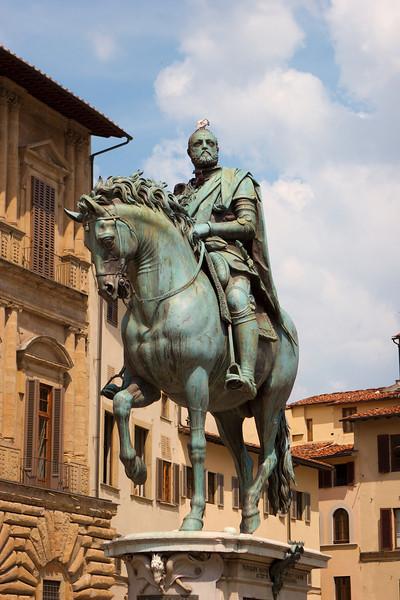 Statues in the Piazza della Signoria
