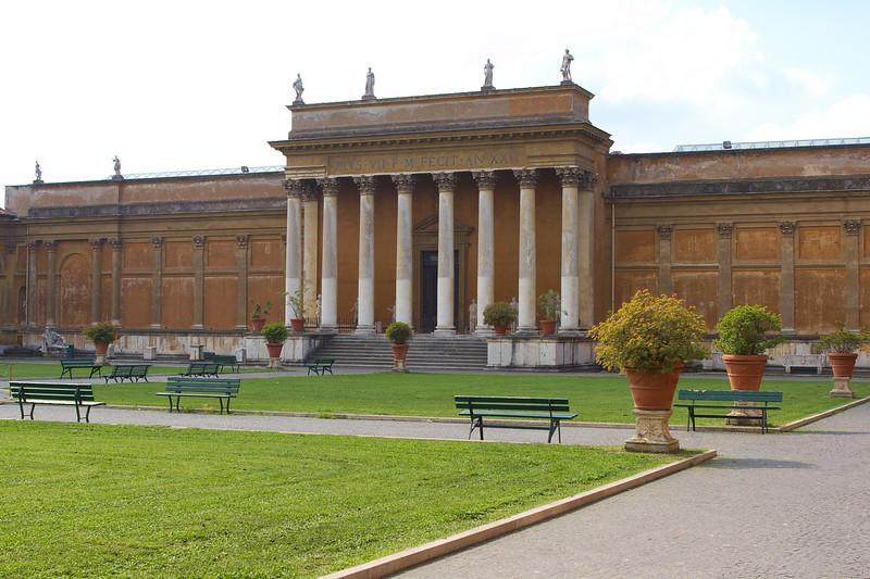 Vatican grounds