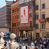 Shopping at the Piazza di Spagna (Spanish Steps)
