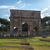 Arch of Constantine, 4C, adjacent to the Coliseum.
