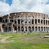 The Coliseum with its 80 entrances.