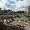 The Forum area covers only 5 acres and yet Rome ruled a large part of the Western World from this place.
